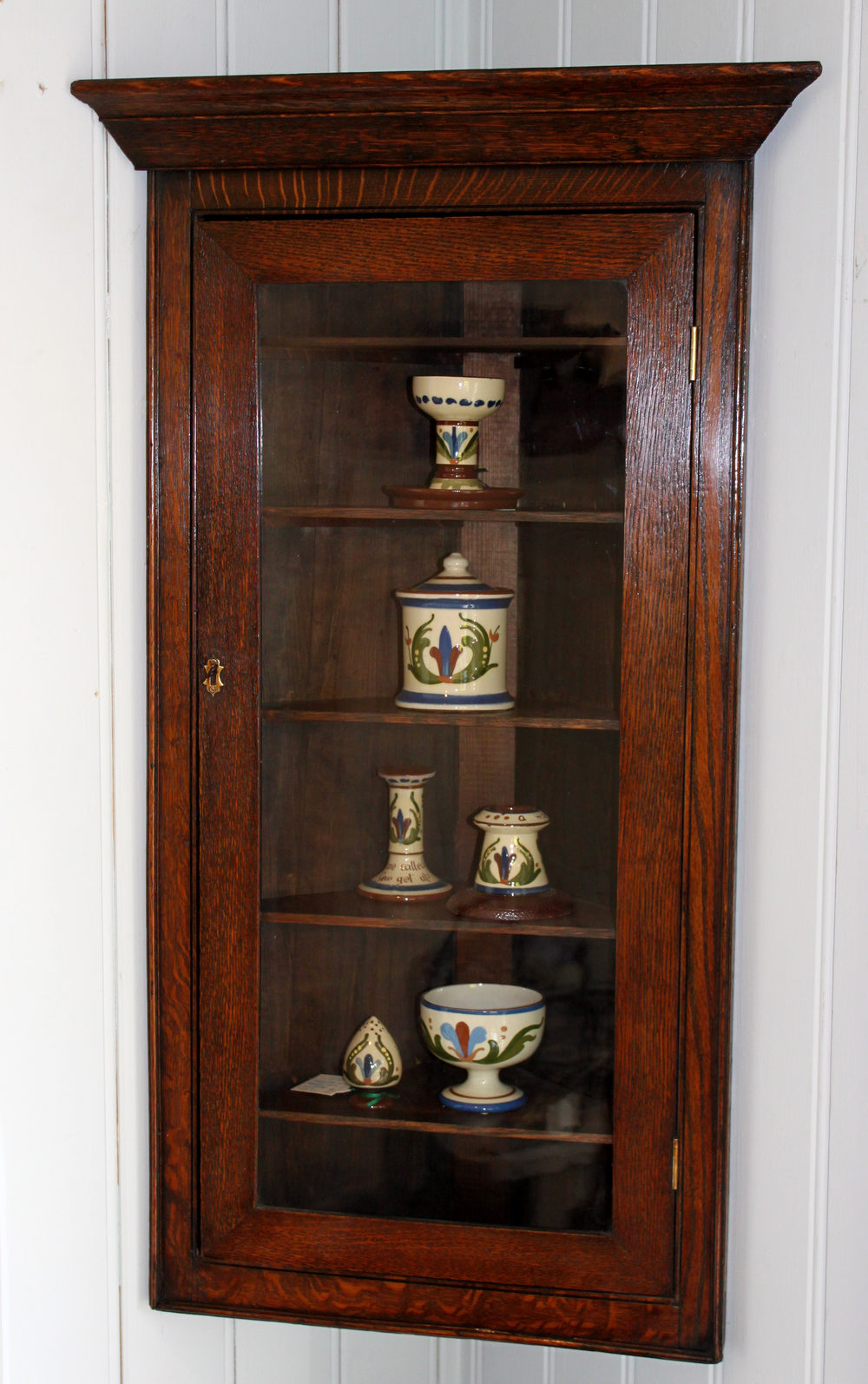 Small Corner Wall Cabinet