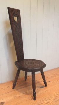 Welsh Spinning Chair (Wales, C. 1900) - Antiques Atlas