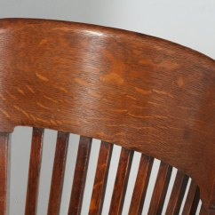 Revolving Chair Colour Rent Tables And Chairs Nj Edwardian Oak Swivel Office Desk - Antiques Atlas