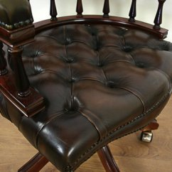 Swivel Reclining Chairs Uk Slipcovers For Folding Pattern Antiques Atlas - Victorian Style Leather Revolving Office Chair