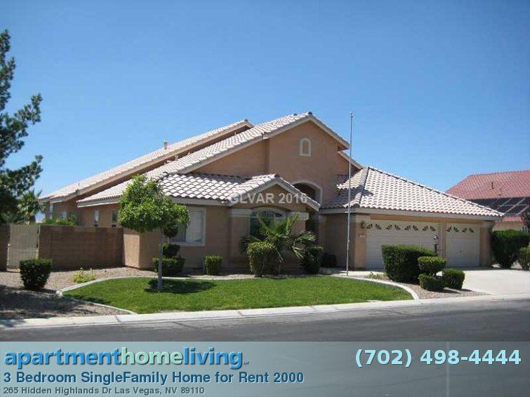 Bedroom Houses Rent Vegas Las 3