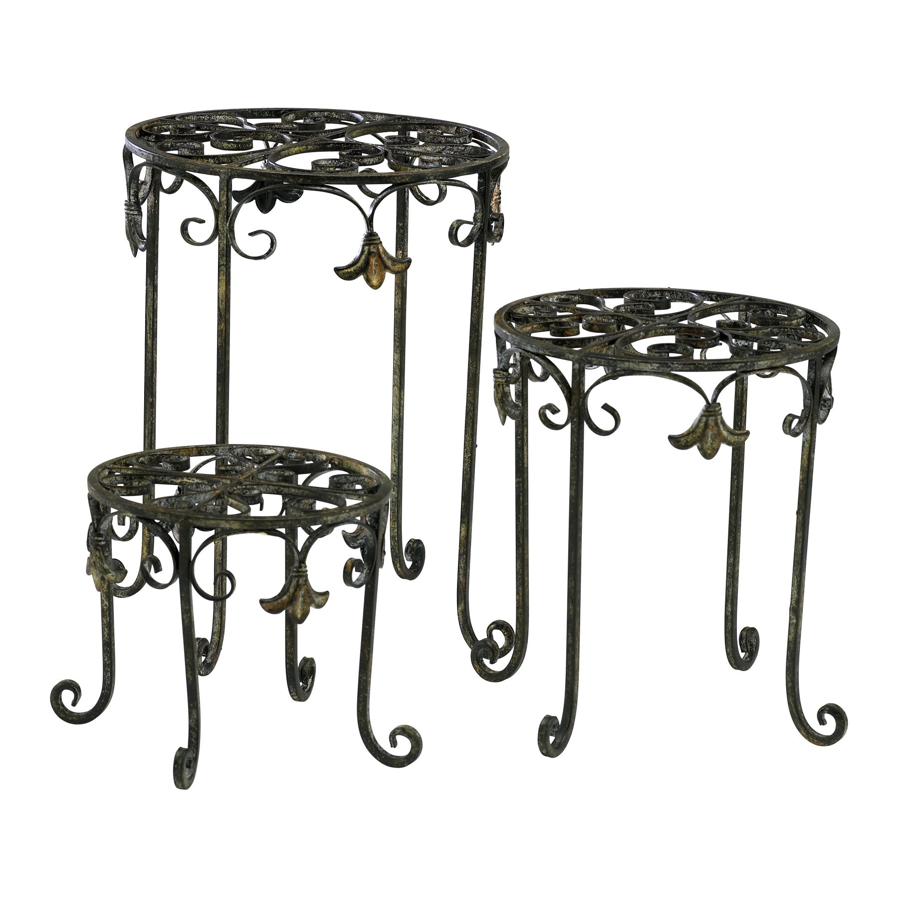 Cyan Design 02783 Filigree Iron Stands CN-02783