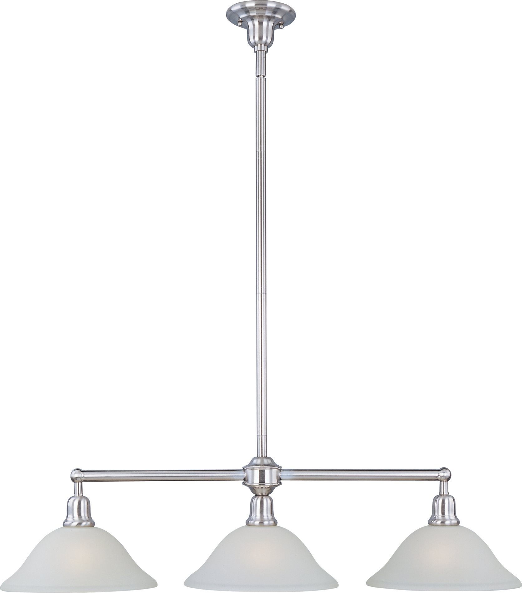 kitchen island lighting fixtures aprons maxim 11093svsn bel air transitional