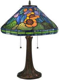 Meyda Tiffany 119554 Poppy Cone Table Lamp MD-119554