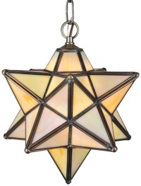 "Meyda Tiffany 12123 Moravian Star 9"" Modern / Contemporary ..."