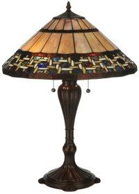 Meyda Tiffany 125114 Ilona Tiffany Table Lamp MD-125114