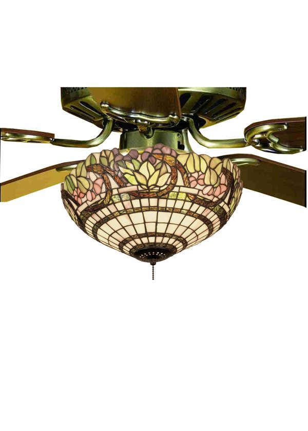 Stained Glass Tiffany Ceiling Fan Lights