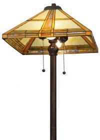 Meyda Tiffany 138769 Prairie Straw Tiffany Floor Lamp MD ...
