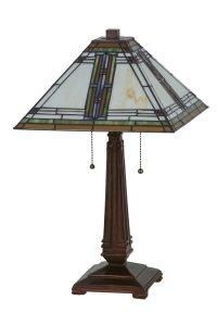 Meyda Tiffany 143149 Nevada Tiffany Table Lamp MD-143149
