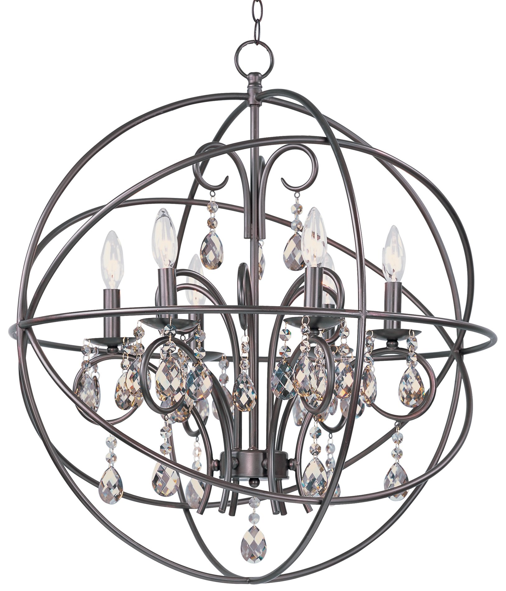 Maxim Lighting Oi Orbit Transitional Chandelier Mx