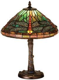 Meyda Tiffany 26683 Mosaic Dragonfly Tiffany Accent Lamp ...