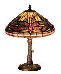 Meyda Tiffany 27158 Mosaic Dragonfly Tiffany Accent Lamp ...