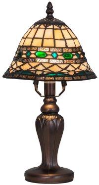 Meyda Tiffany 27535 Roman Mini Tiffany Lamp MD-27535