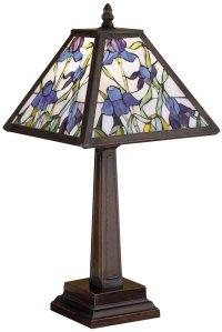 Meyda Tiffany 30886 Mosaic Iris Tiffany Accent Lamp MD-30886