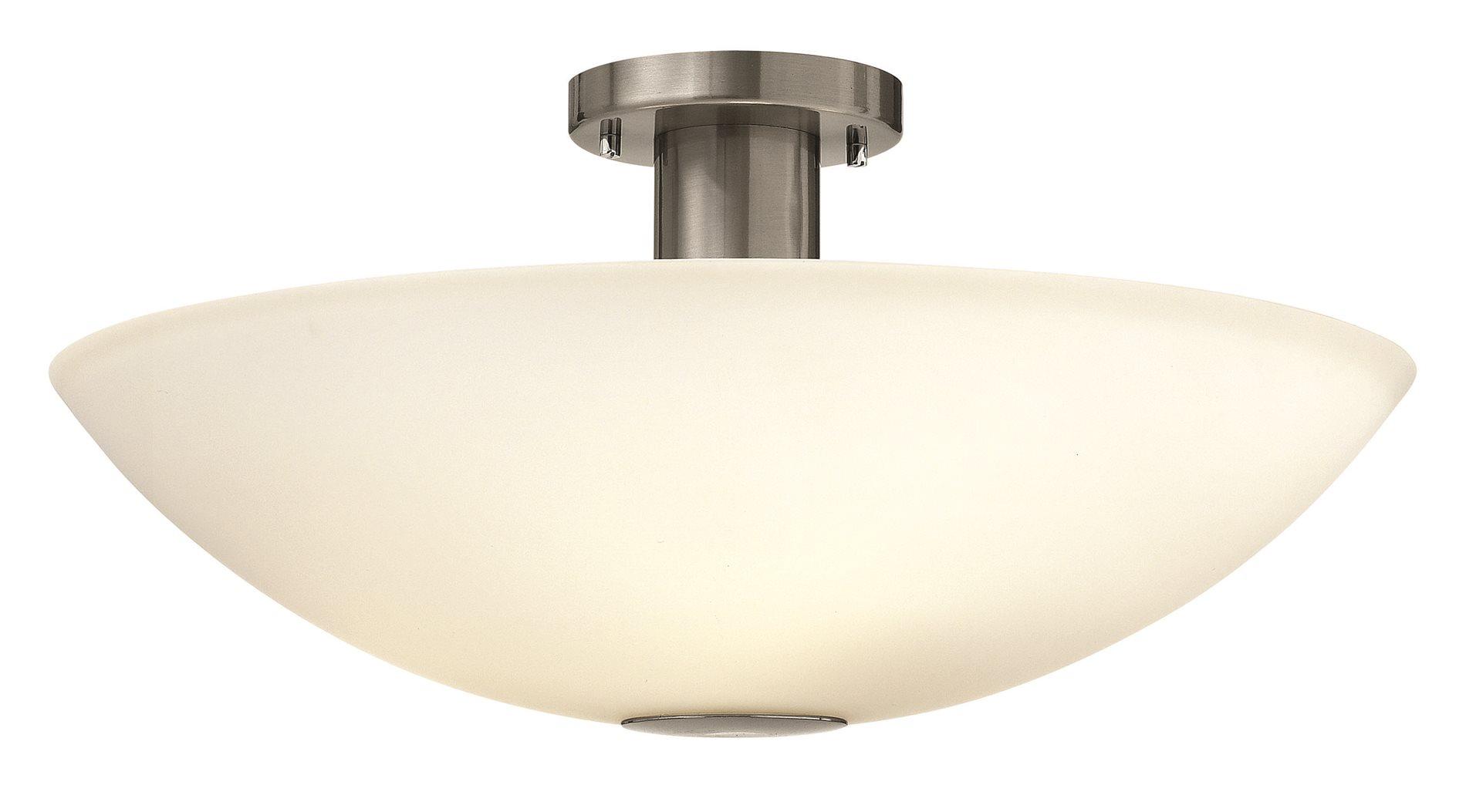 Hinkley Lighting 3342BN Camden Modern  Contemporary Semi Flush Mount Ceiling Light HK3342BN