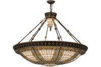 Meyda Tiffany 49726 Fleur-De-Lis Inverted Pendant Light MD ...