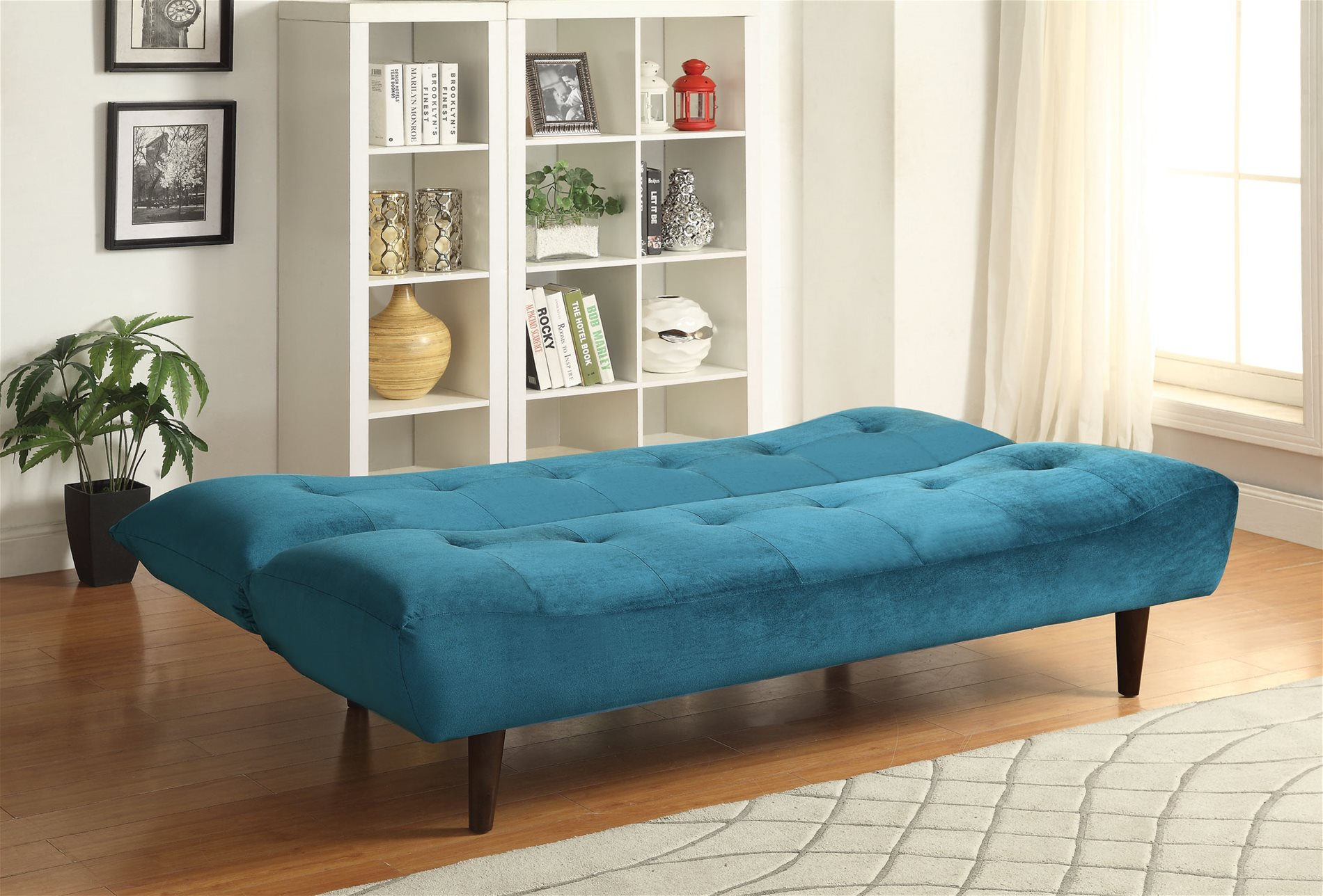 cheap teal sofas most comfortable sofa bed or futon coaster home 500098 velvet with solid wood