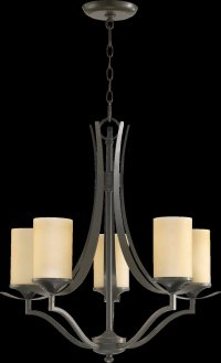 Quorum Lighting 6096-5-86 Atwood Traditional Chandelier QR ...