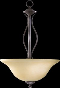 Quorum Lighting 8110-3 Spencer Traditional Inverted ...