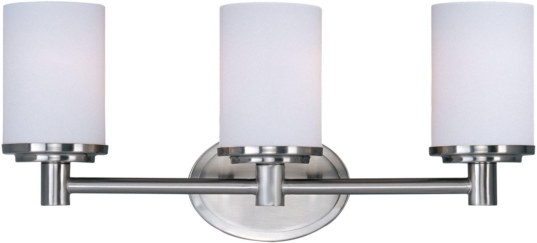 Maxim Lighting 9053swsn Cylinder Contemporary Bathroom