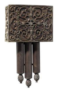 Teiber CA3-RC Designer Carved Westminster Short Door Chime ...