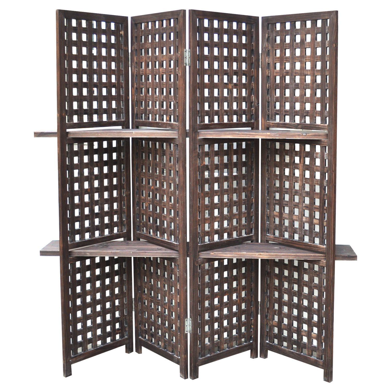 crestview collection accent furniture rustic lattice work room divider item number cvfzr761