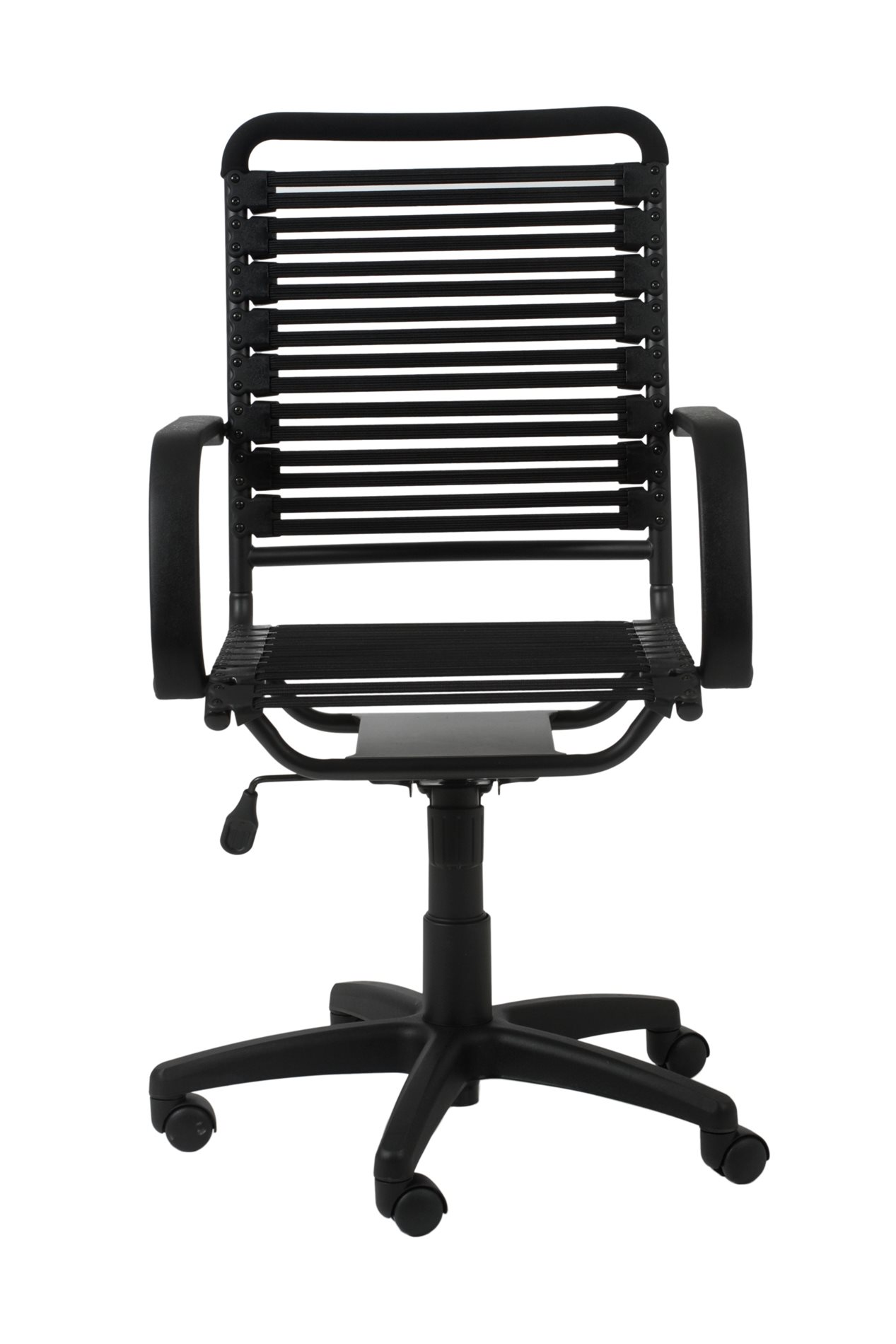 Bungie Office Chair Euro Style 02570blk Bungie Flat High Back Office Chair Ers