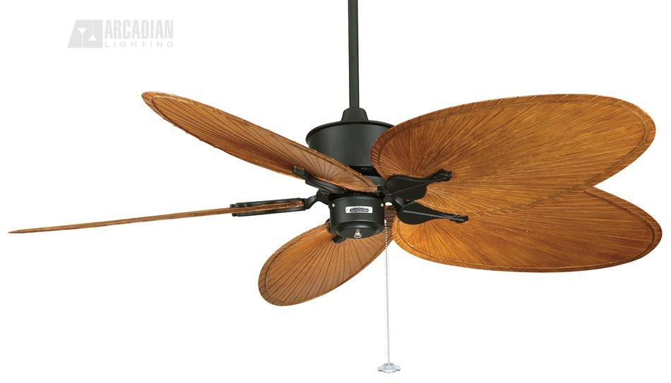 "Fanimation FP320 52"" Islander Tropical Ceiling Fan FM"
