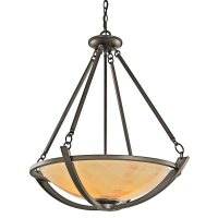 Kichler Lighting 42615OZ Carthage Transitional Inverted ...