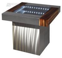 Nova Lighting IFET2222B Square Infinity Contemporary End ...