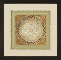 Jardine 7369 Petite Tiles II Transitional Framed Wall Art ...