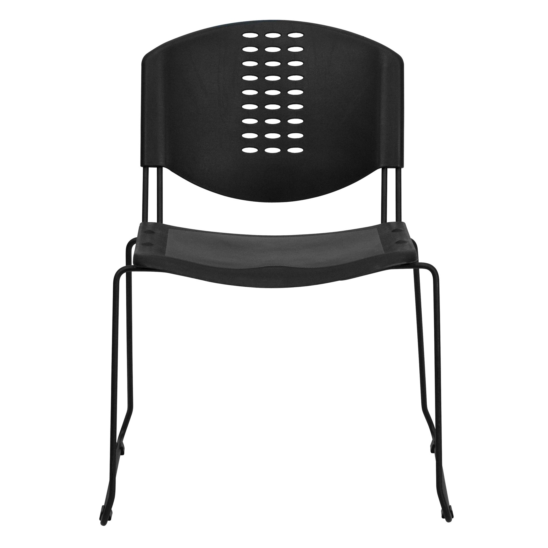 Plastic Stacking Chairs Flash Furniture Rut Nf02 Bk Gg Stack Chairs Plastic Stack
