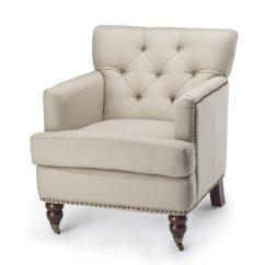 Safavieh Colin Tufted Club Chair Tennis Chairs Hud8212a Sfv