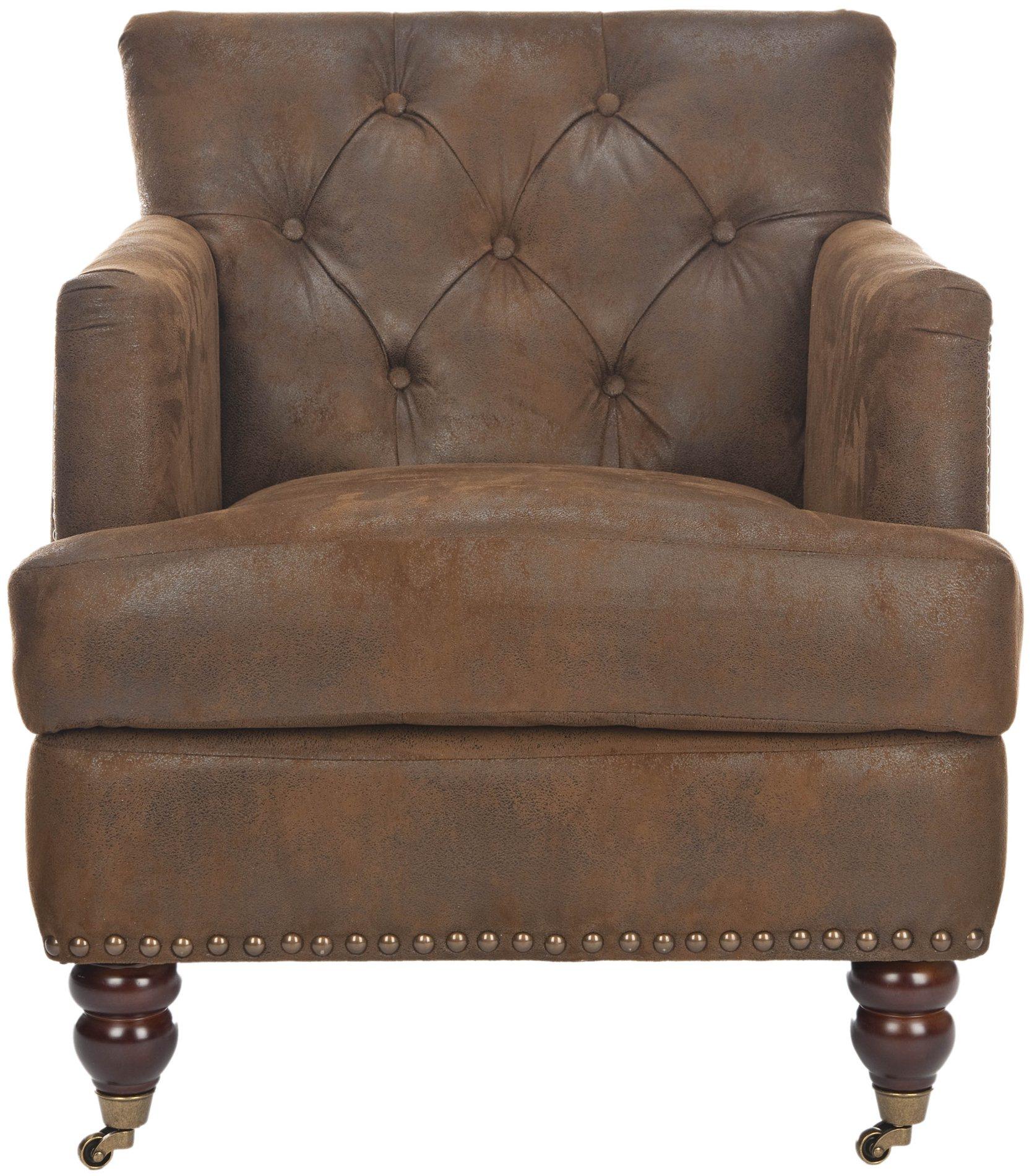 target club chair parson covers etsy safavieh hud8212b colin tufted sfv