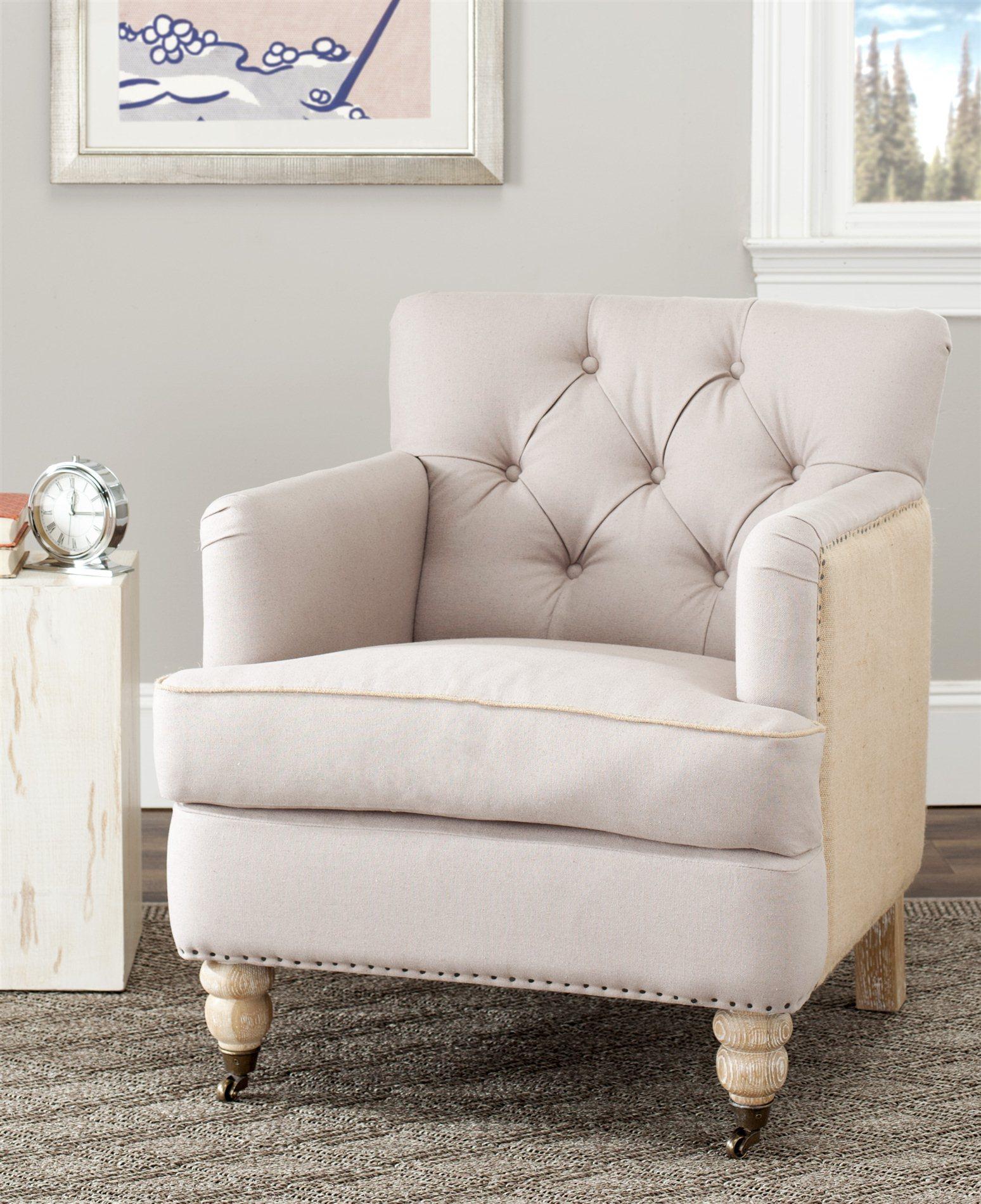 safavieh colin tufted club chair xxl desk hud8212g sfv