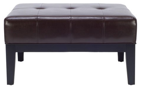 abbyson living belmont leather sofa modern sets india furniture for sale > cocktail ottoman - adfind.org