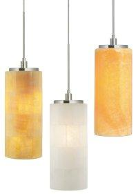 Stone Lighting PD132 Onyx Cylinder Transitional Mini ...