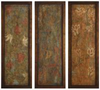 Uttermost 50958 Damask Panels Traditional Wall Art UM-50958