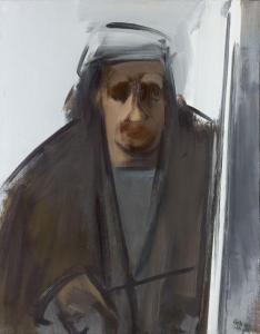 Aguayo, Rembrandt, huile sur toile, 92x73cm, 1972