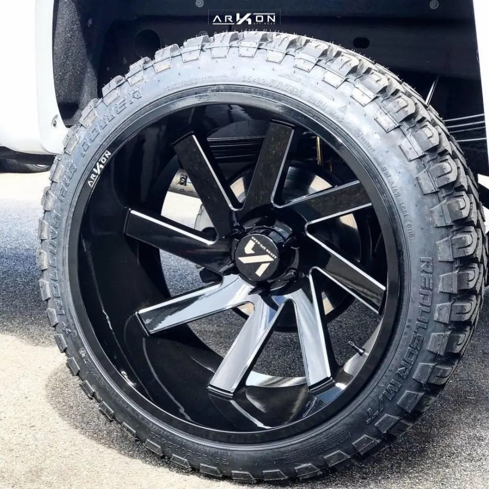hight resolution of 10 2018 silverado 1500 chevrolet mcgaughys suspension lift 85in arkon off road lincoln black