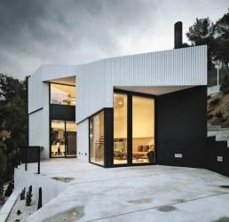 Fachadas de Casas Modernas 51 Boas Ideias Arquidicas