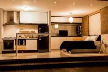 casa alex pequenas casas nogueira interior modernas cozinha pad bachelor pequena moderna plantas uma 1220 modern quarto projeto integrados construir