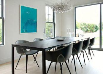 mundi sagaponack axis cottage dining casa interior americana chairs modern hgtv arquidicas space elegant geladeira onde deposito ficam junto cozinha