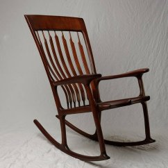 Handmade Rocking Chairs Stair Chair Lift Prices One Of A Kind By Ken Vick Artist Run Website Photo Mahogany