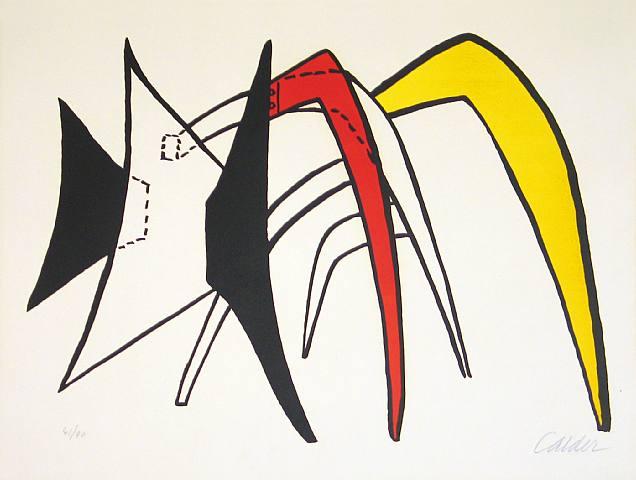 Alexander Calder, Stabiles