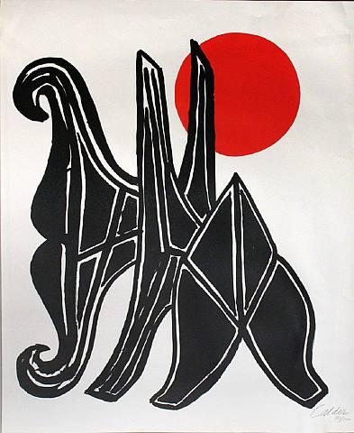 Alexander Calder, Jeune Fille et sa Suite