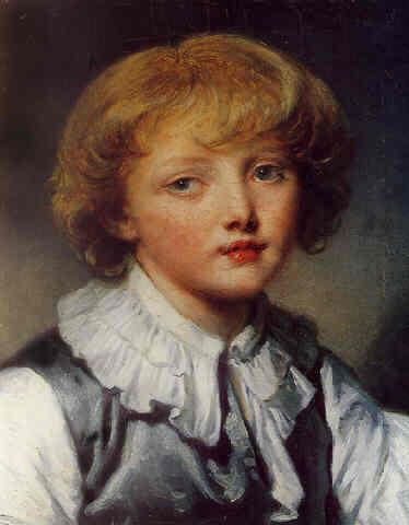 Jean Baptiste Greuze, Tête de Juenne Garçon