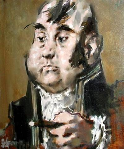 Jack Levine, Modern Napoleon