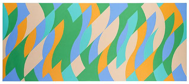 Bridget Riley, Turquoise and Others