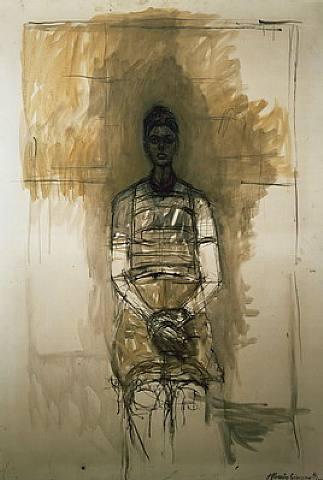 Alberto Giacometti, Portrait of Caroline